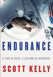 "Cover for ""Endurance: A Year in Space, a Lifetime of Discovery."""