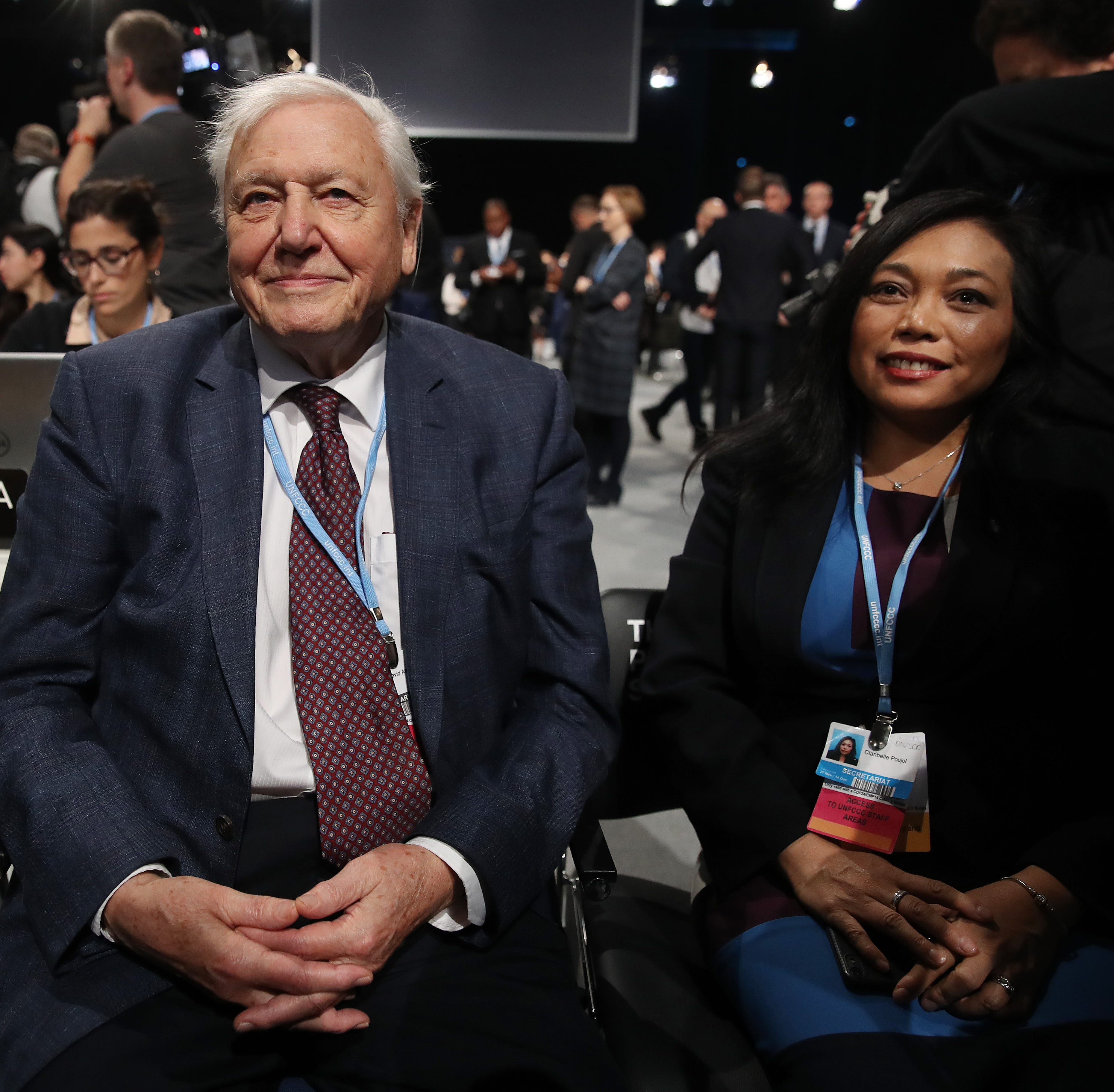 Climate change could lead to 'a collapse of our civilization' according to Sir David Attenborough