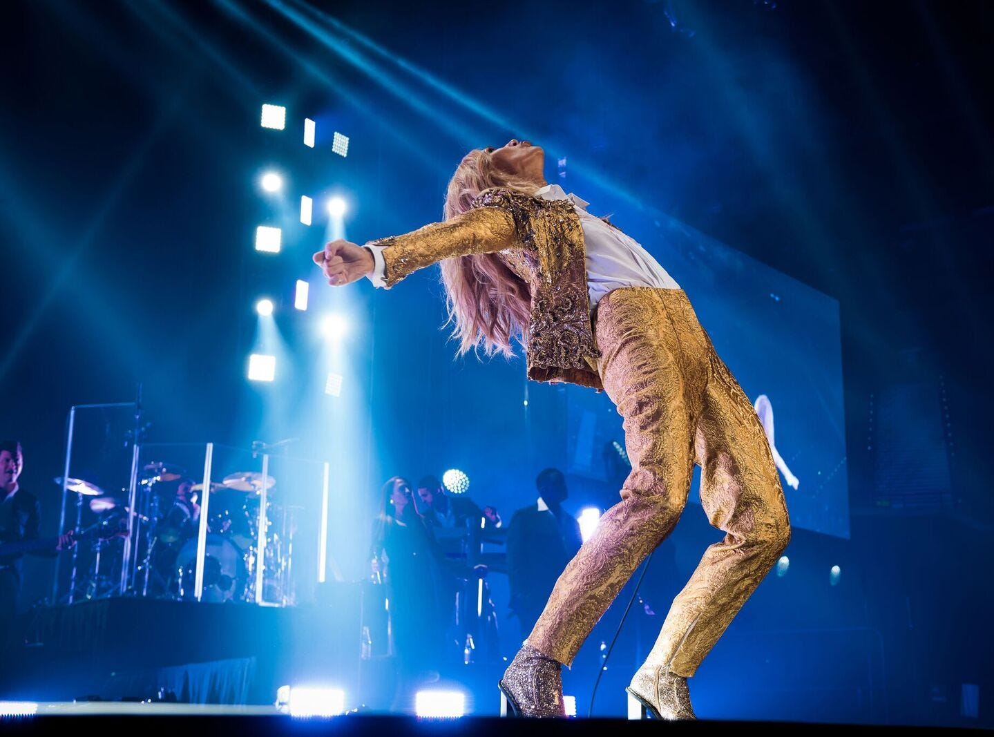 Celine Dion has had a long running show  at The Colosseum at Caesars Palace in Las Vegas.