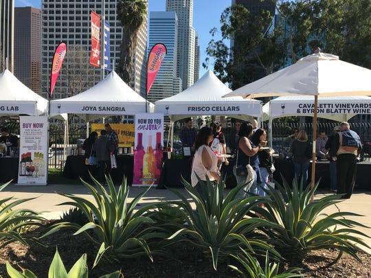 Wine & Food Experience in Los Angeles.