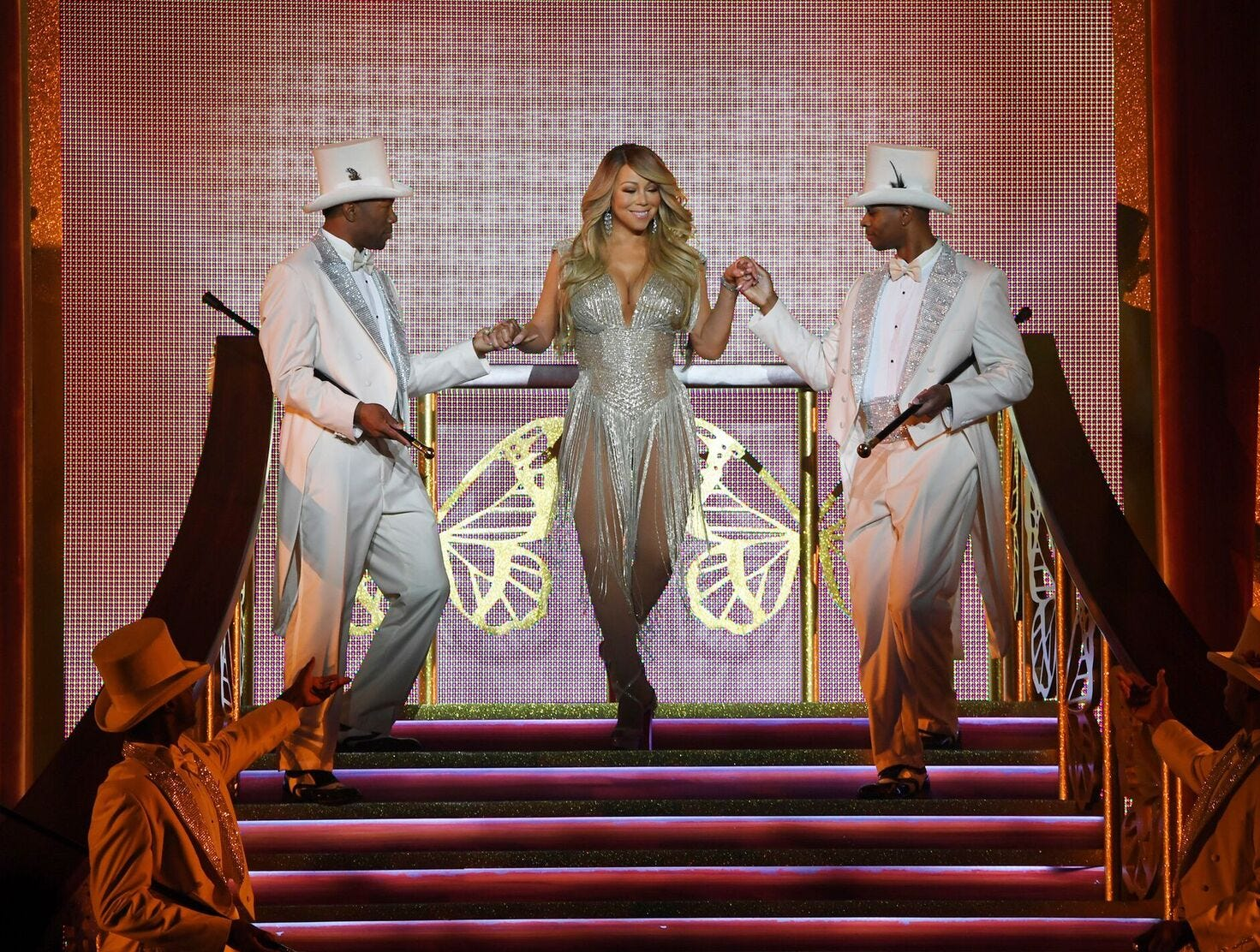 Mariah Carey began her second residency at the Colosseum at Caesars Palace in 2018. Shows continue in 2019.