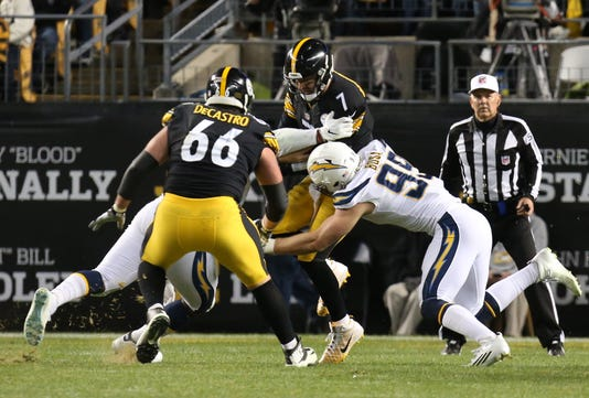 Usp Nfl Los Angeles Chargers At Pittsburgh Steele S Fbn Pit Lac Usa Pa