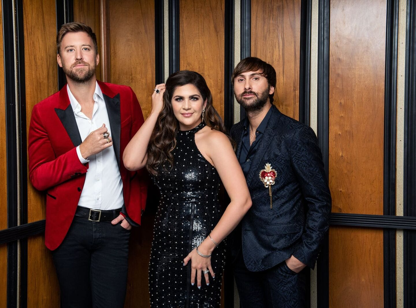 Country music trio Lady Antebellum begin a residency at the Palms Casino Resort in February 2019.