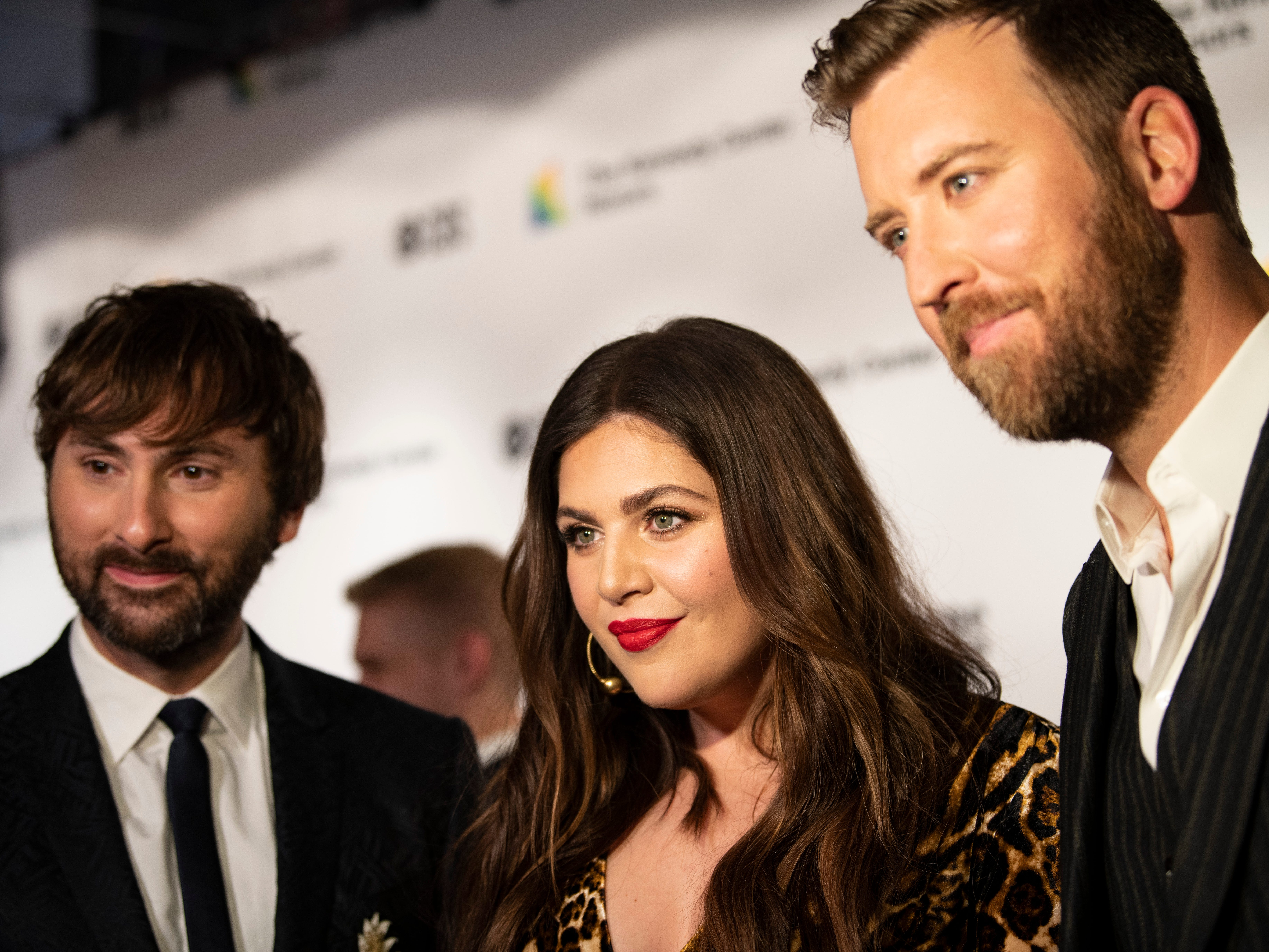 {Dec. 2, 2018} {8:41 p.m.} -- Washington, DC, U.S.A  -- Country music band Lady Antebellum performed to honor recipient Reba McEntire at the 2018 Kennedy Center Honors.  --    Photo by Hannah Gaber, USA TODAY staff ORG XMIT:  HG 137674 Kennedy Center H 12/2/2018 [Via MerlinFTP Drop]
