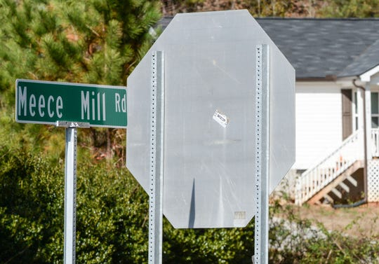 Meece Mill Road begins less than a half-mile from the Pickens County Prison, commonly called the stockade, on Prison Camp Road, where two inmates escaped early Tuesday morning.