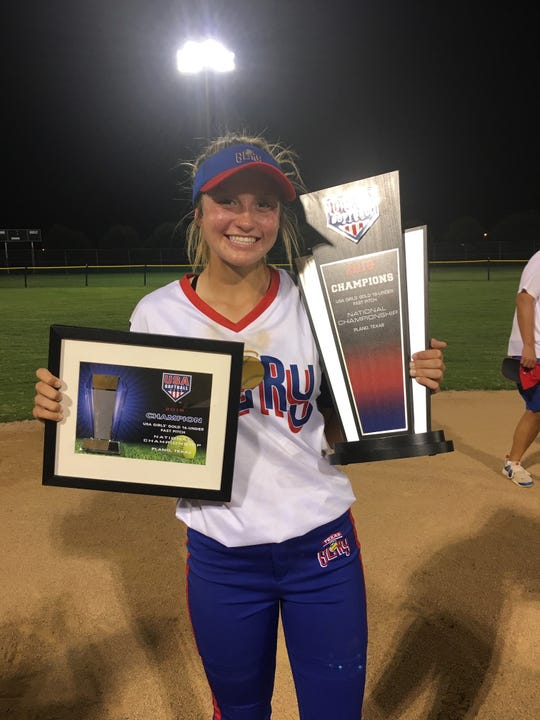 LaSalle junior pitcher Taylor Snow helped lead her travel ball team, Texas Glory, to three titles this summer.