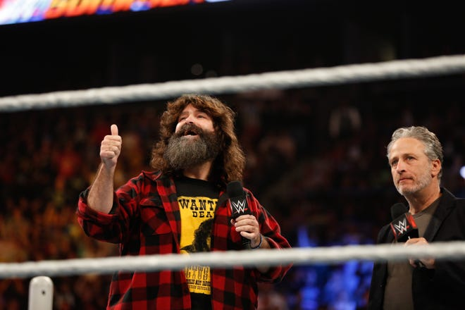 WWE legend Mick Foley is among the big names headed to Oshkosh for ACW Wisconsin's April showcase at Menominee Nation Arena.