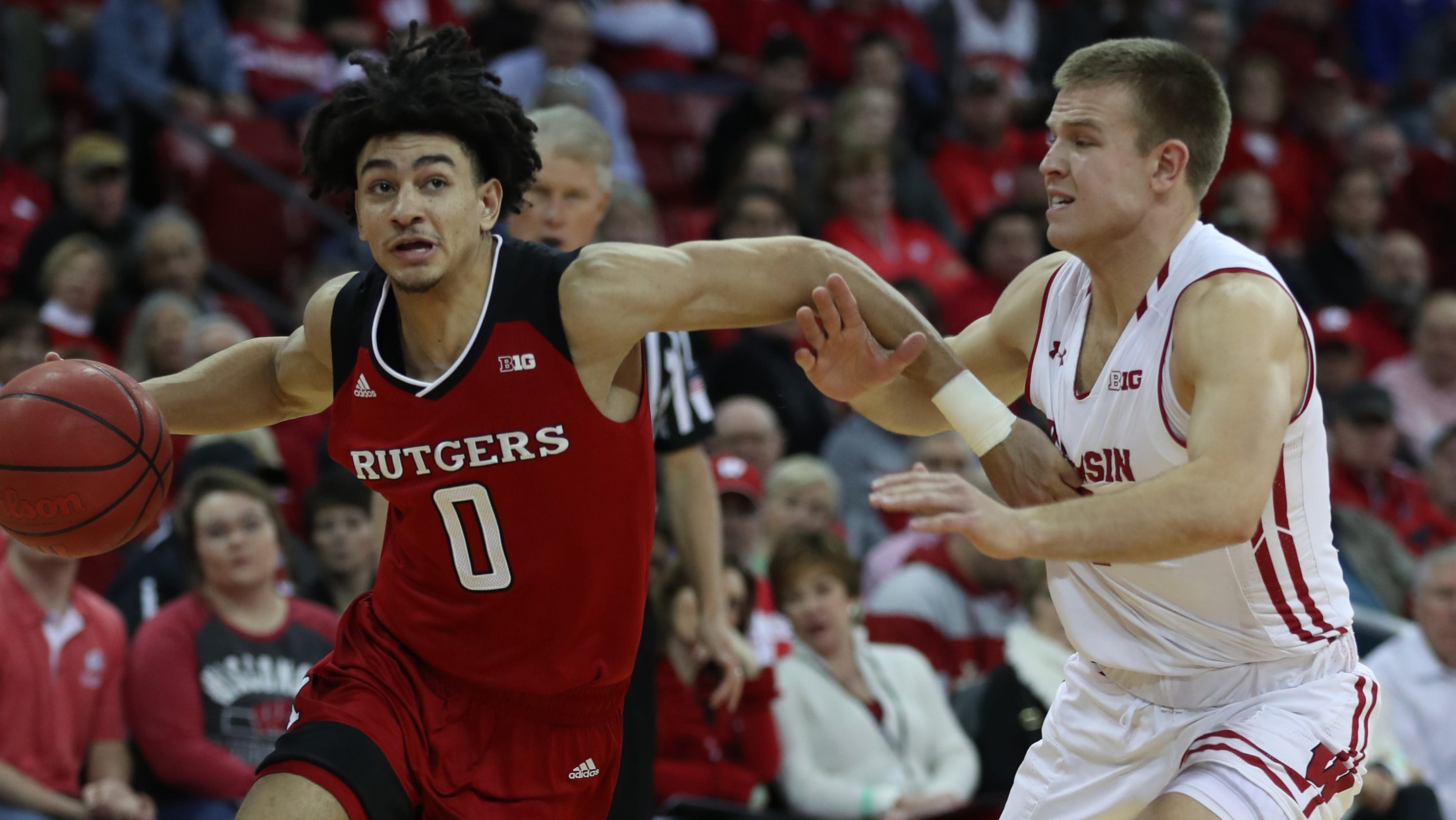 rutgers basketball: hard-fought loss at no. 12 wisconsin