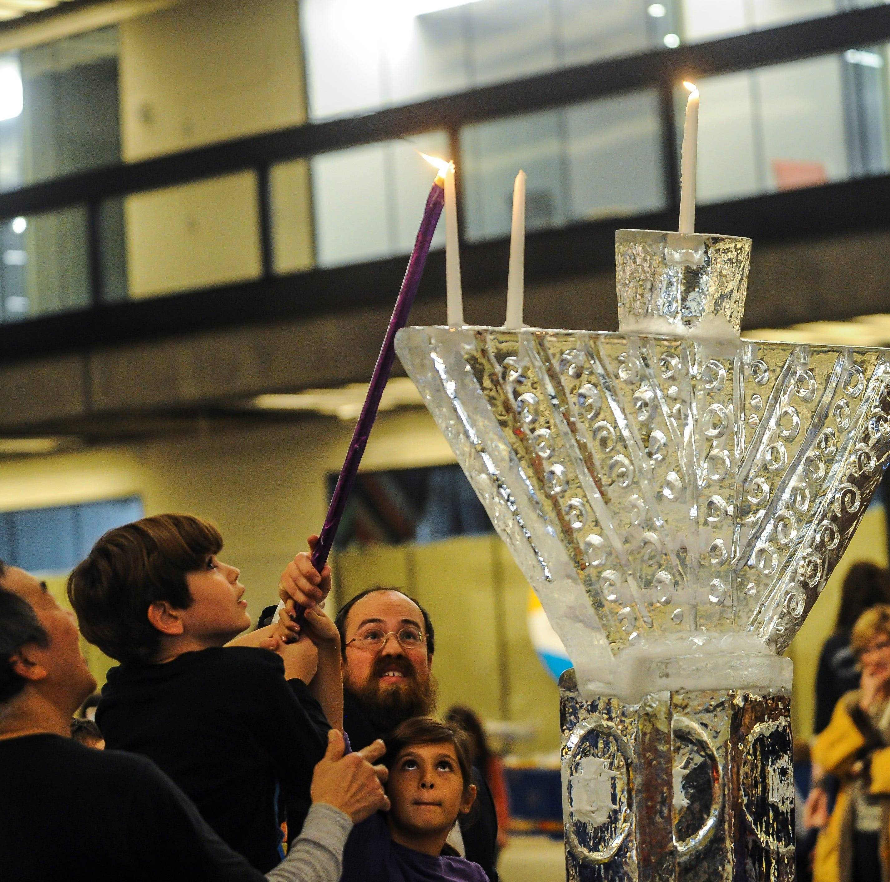Bell Works hosts Menorah lighting
