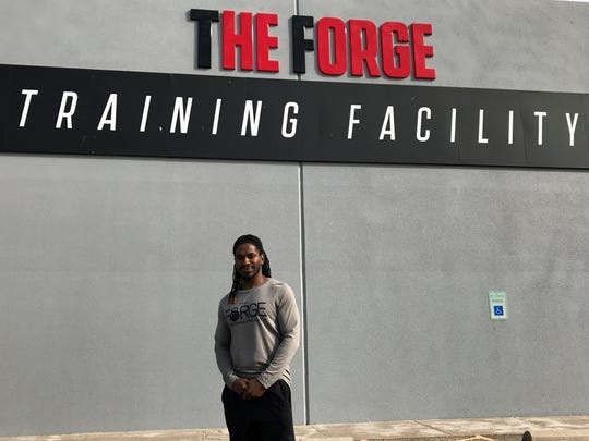 Jonathan Johnson was hired Monday as the general manager of The Forge Training Facility.