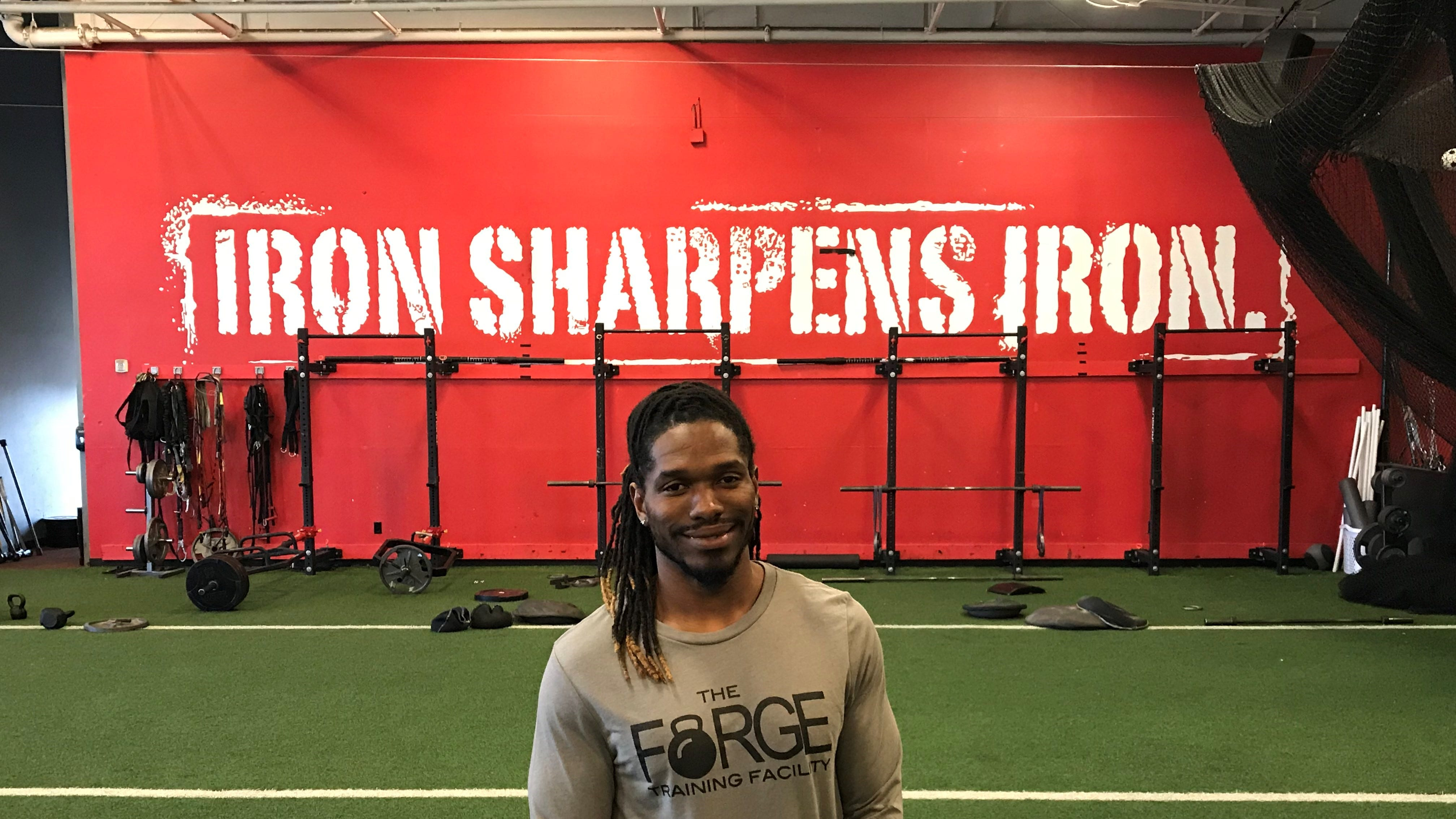 Jonathan Johnson was hired Monday as the new General Manager of The Forge Training Facility.