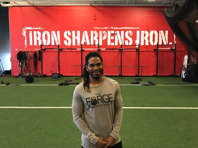Abilene High School graduate and state track champion Jonathan Johnson was hired Monday as the general manager of The Forge Training Facility.