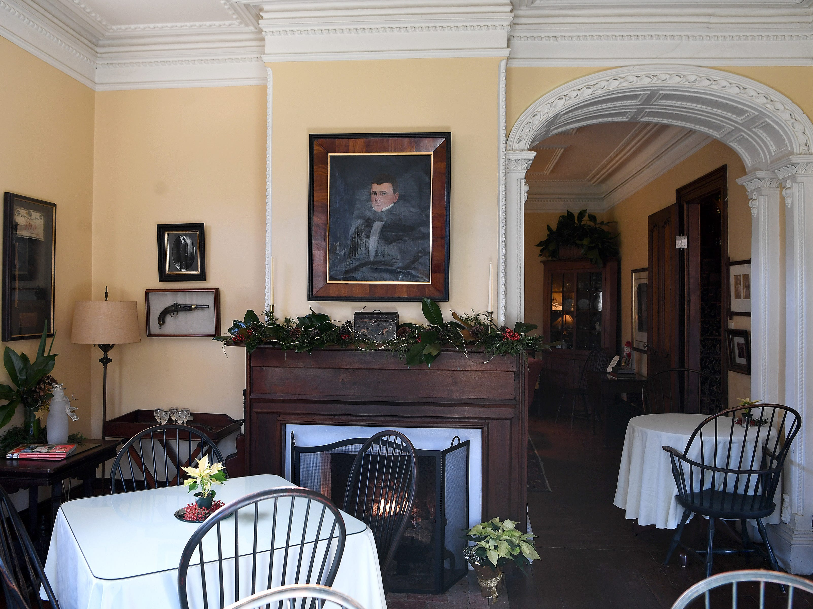 The Mountain Magnolia Inn in Hot Springs also functions as a restaurant several nights a week allowing visitors to enjoy the historic house without staying the night.