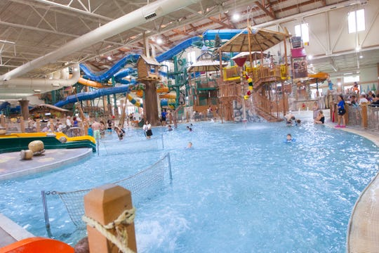 Great Wolf Lodge's Indoor Waterpark is at 1 Great Wolf Drive in Scotrun, Pennsylvania.