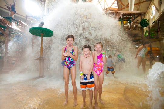 Great Wolf Lodge's Indoor Waterpark attractions are included with a stay at the lodge.