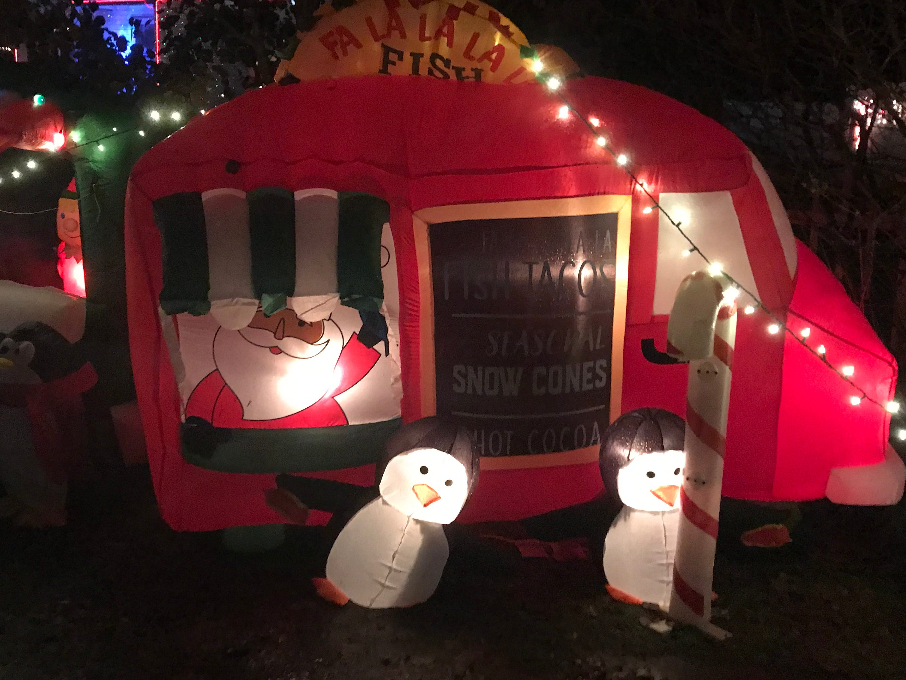 The Phillips family has been running the 'Phillips Festival of Lights' outside of their home from 1-7 Penny Street in Binghamton. The display is open for visitors to drive through every evening.