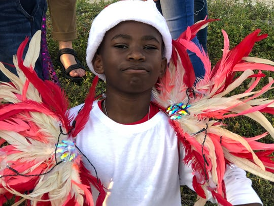 Palm Bay Elementary School students won two recognitions from the city for their holiday parade float