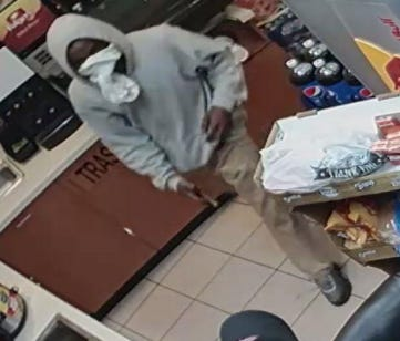 Melbourne police are searching for the person responsible for a Nov. 25 convenience store robbery
