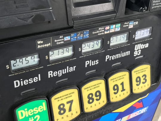 Low gas prices are providing consumers with some additional holiday spending money. It probably won't last for long though.