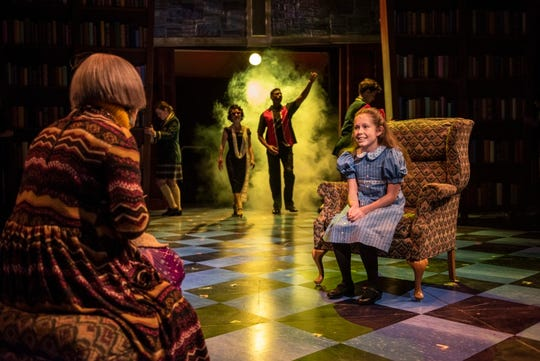 """Matilda the Musical"" runs at Northern Stage in White River Junction through Jan. 1."