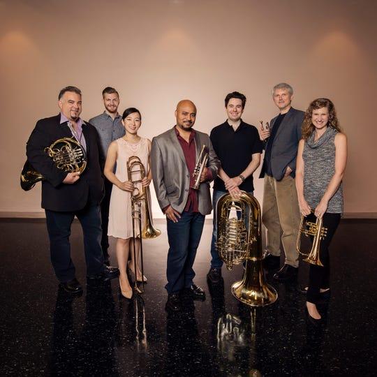 The Rodney Marsalis Philadelphia Big Brass performs Dec. 21 in St. Johnsbury.