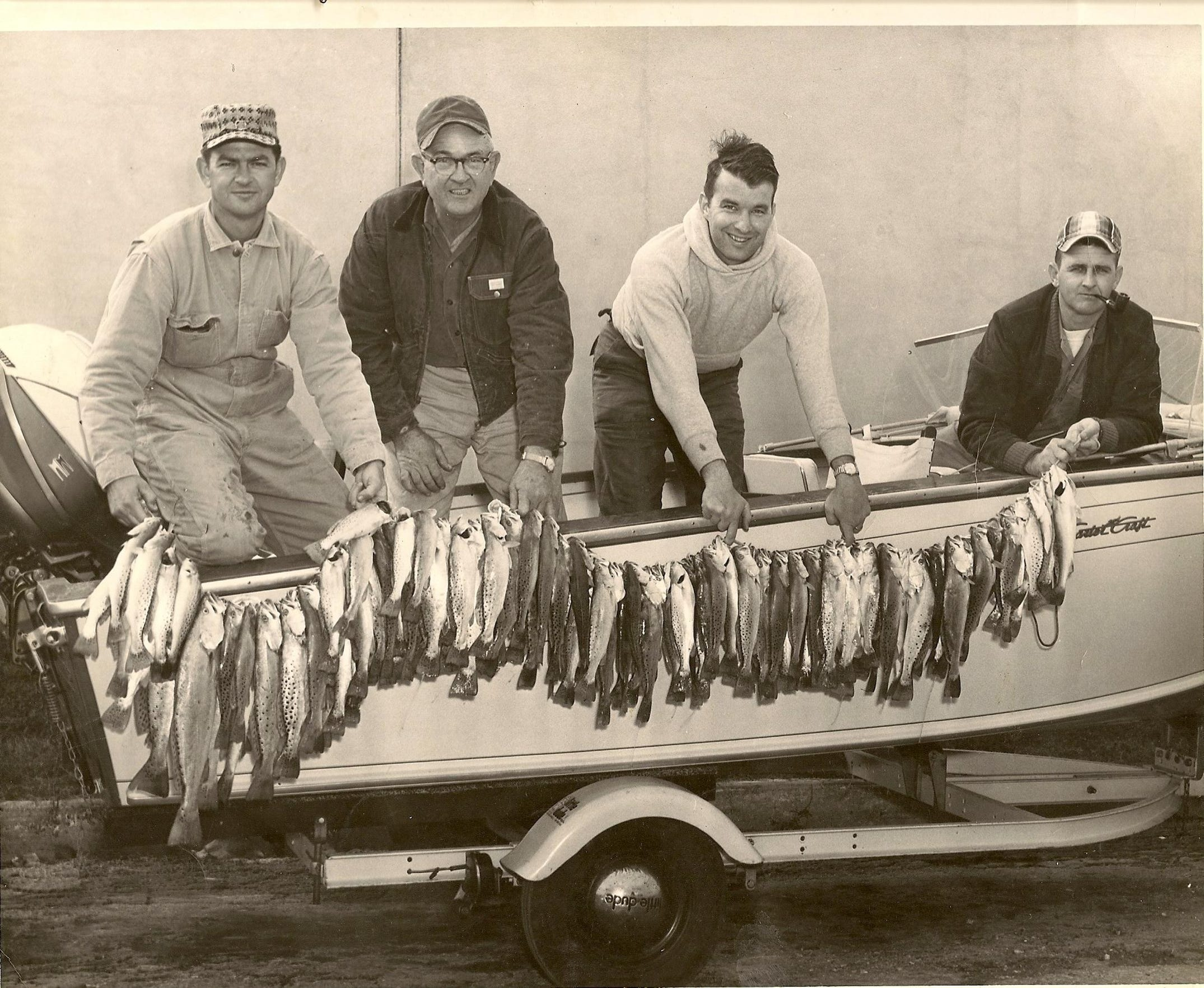 Following a fish-killing freeze in 1983, the daily catch limit for Texas specks went from 20 fish to 10.
