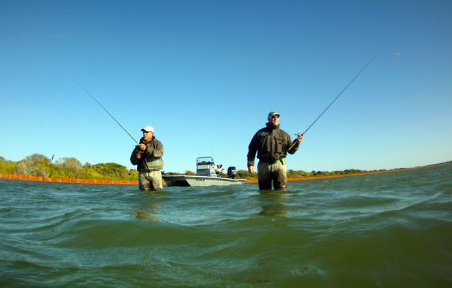 Winter wade-fishing for big speckled trout is a game of sacrifice and reward. It's not for everyone.