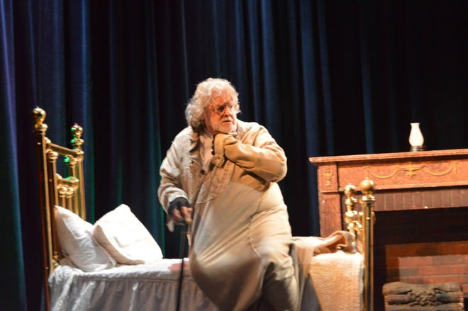 Bruce Curless, artistic producing director of the Ritz Theatre Company, has said this is his last Christmas portraying Scrooge in the musical that bears Ebenezer's name.