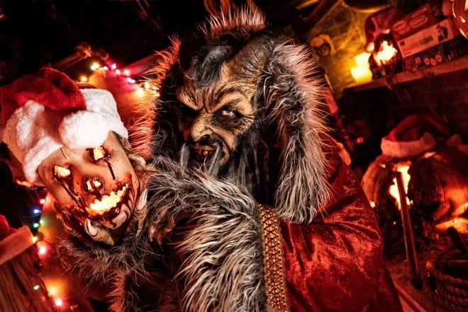Krampus is lurking inside Dent Schoolhouse this Christmas.