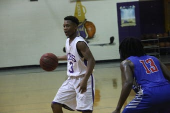Clarksville High was led by J.J. Wheat and Devyn Bender to knock off Montgomery Central last Friday night in a District 10 boys game.