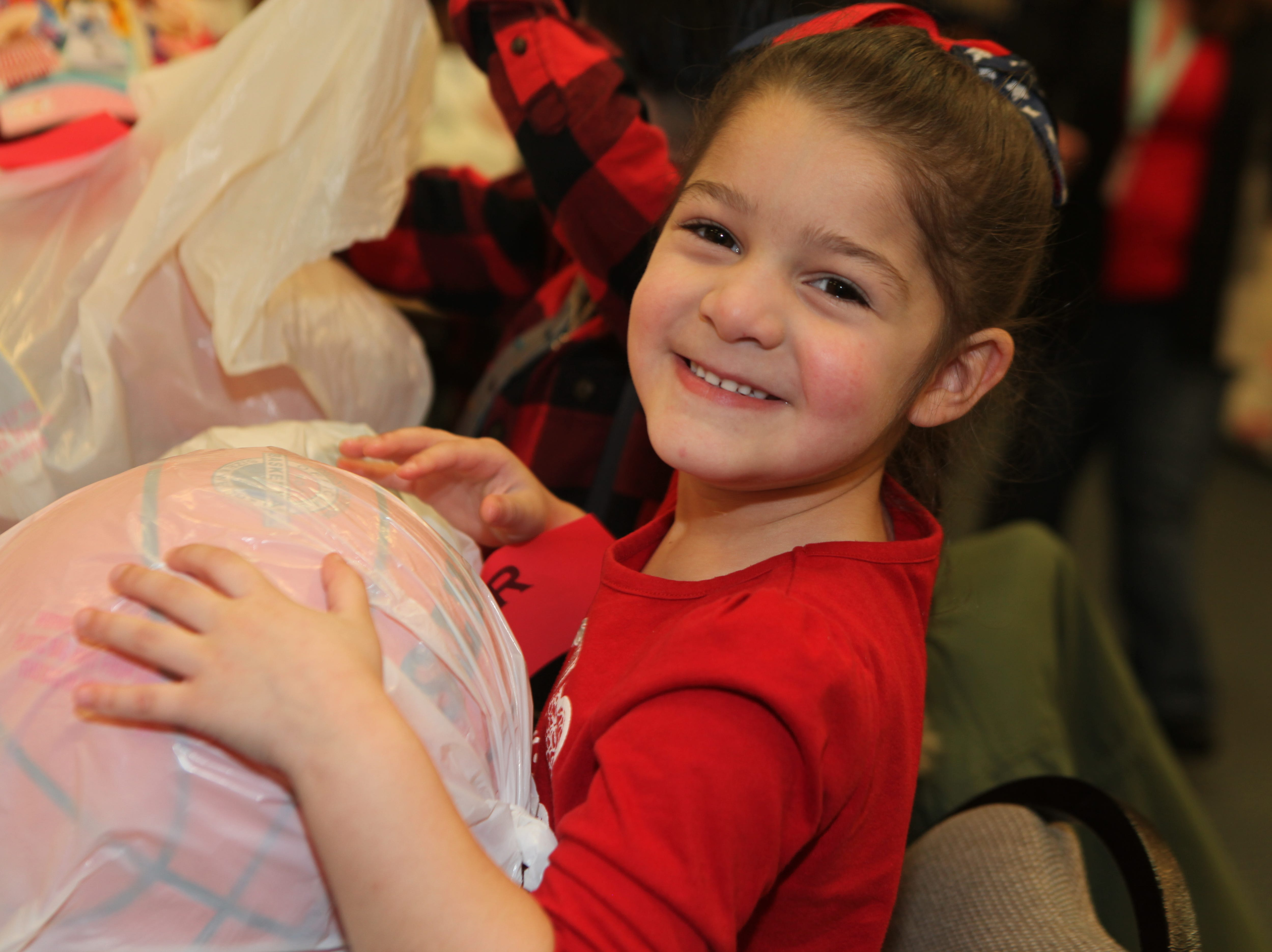 The Clarksville Kiwanis Club held its annual Christmas Party giving 144 Head Start children a visit with Santa Claus and a bag full of early Christmas presents, Dec. 4, 2018 in Clarksville, Tenn.