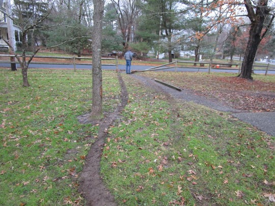 A Watchung man was issued summonses in connection with leaving the scene of an accident in Tewksbury where he allegedly struck a fence, firepit and picnic table and fled.