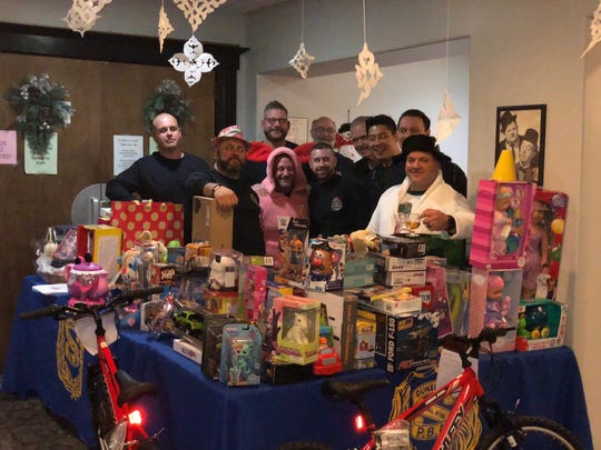 Under the direction of Dunellen Police Department Detective Joe Dudley, also a delegate for the NJ PBA, the Dunellen Toy Drive event netted more than 200 gifts (and counting) for Foster & Adoptive Family Services of NJ.