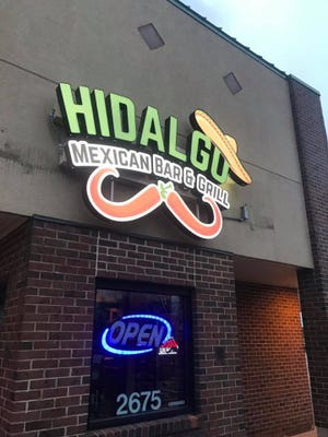 Hidalgo Mexican Bar & Grill opened in Urbandale recently.