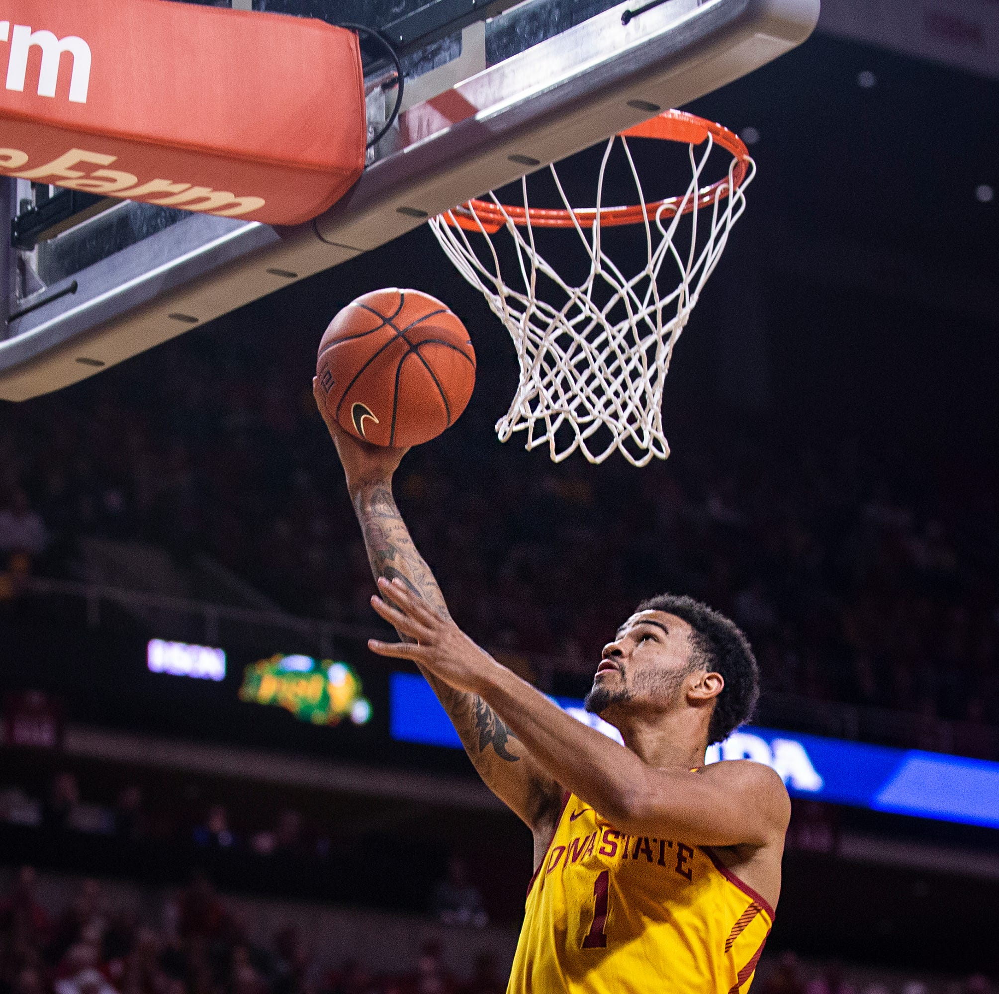 Peterson: Once everyone is healthy, Wigginton says Iowa State's ceiling is the 'sky'