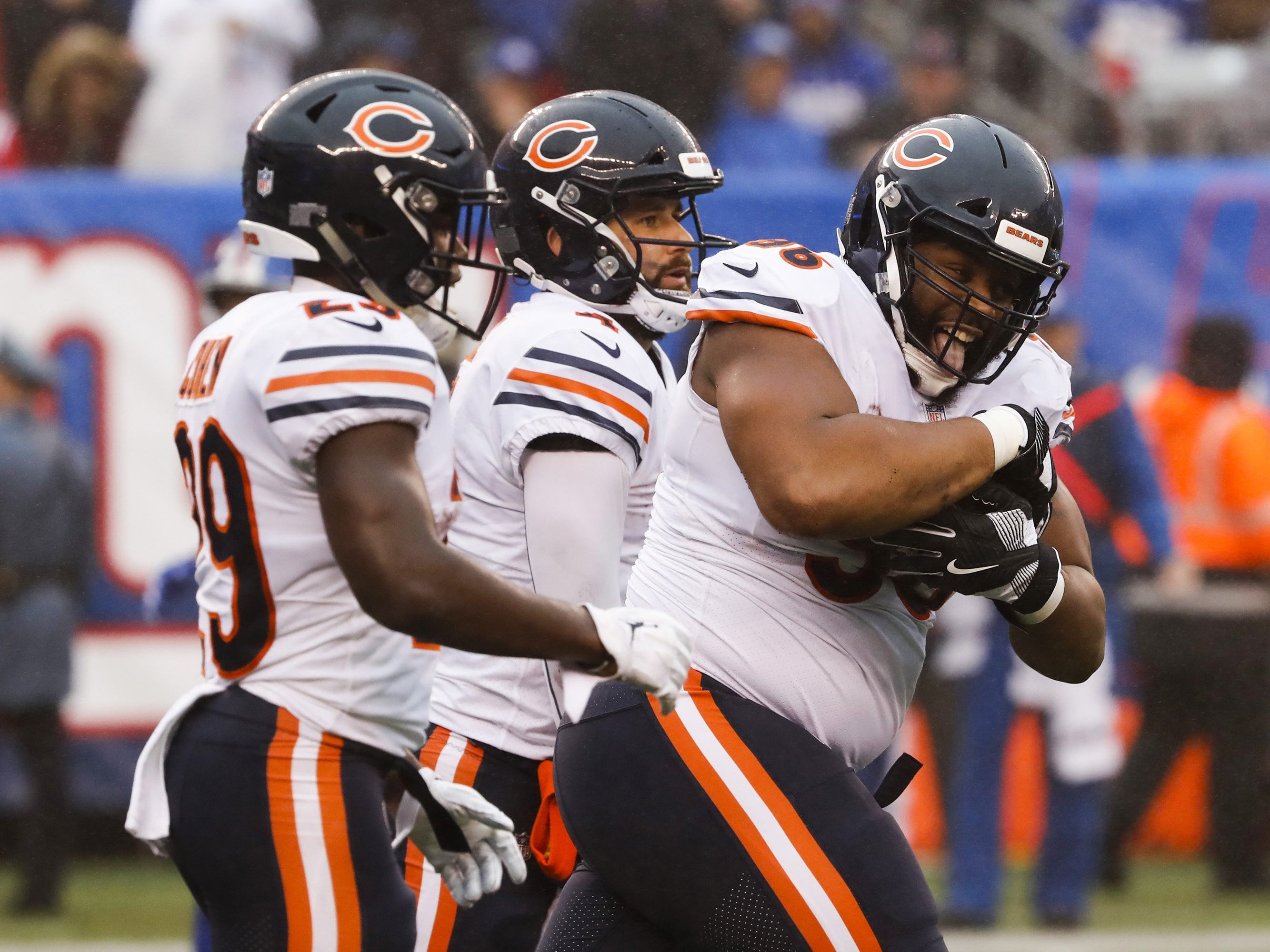 7. Bears (8-4) | Last game: Lost to the Giants, 30-27 | Previous ranking: 5 | The buzz: Can Khalil Mack and the Bears do to the Rams what Dallas did to New Orleans last week?