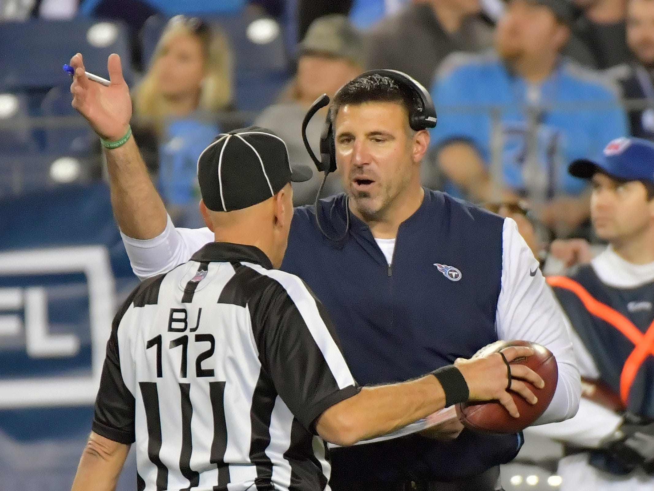 15. Titans (6-6) | Last game: Defeated the Jets, 26-22 | Previous ranking: 17 | The buzz: Tennessee is still very much in the playoff hunt under first-year coach Mike Vrabel.