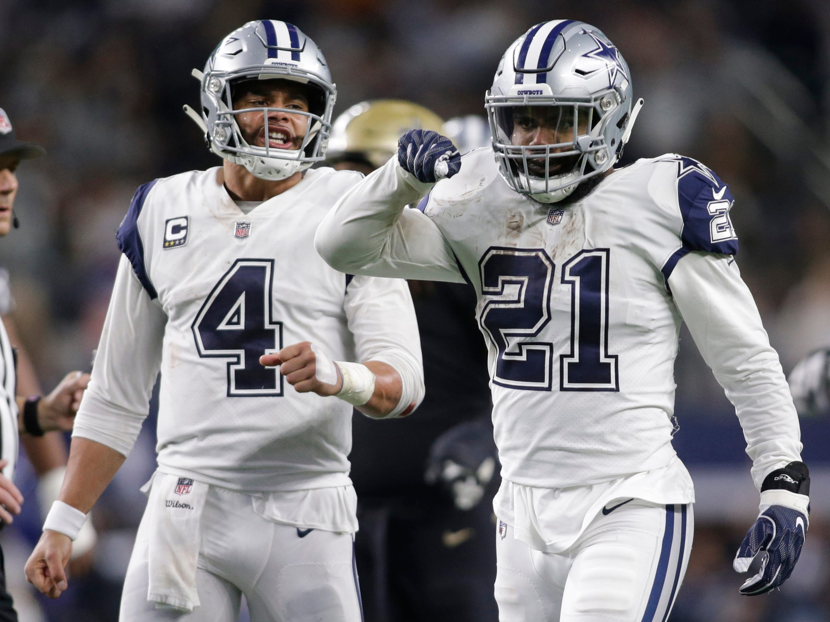 9. Cowboys (7-5) | Last game: Defeated the Saints, 13-10 | Previous ranking: 11 | The buzz: Leighton Vander Esch for Defensive Rookie of the Year?