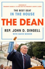 "Book cover, ""The Dean: The Best Seat in the House"" by John D. Dingell with David Bender"