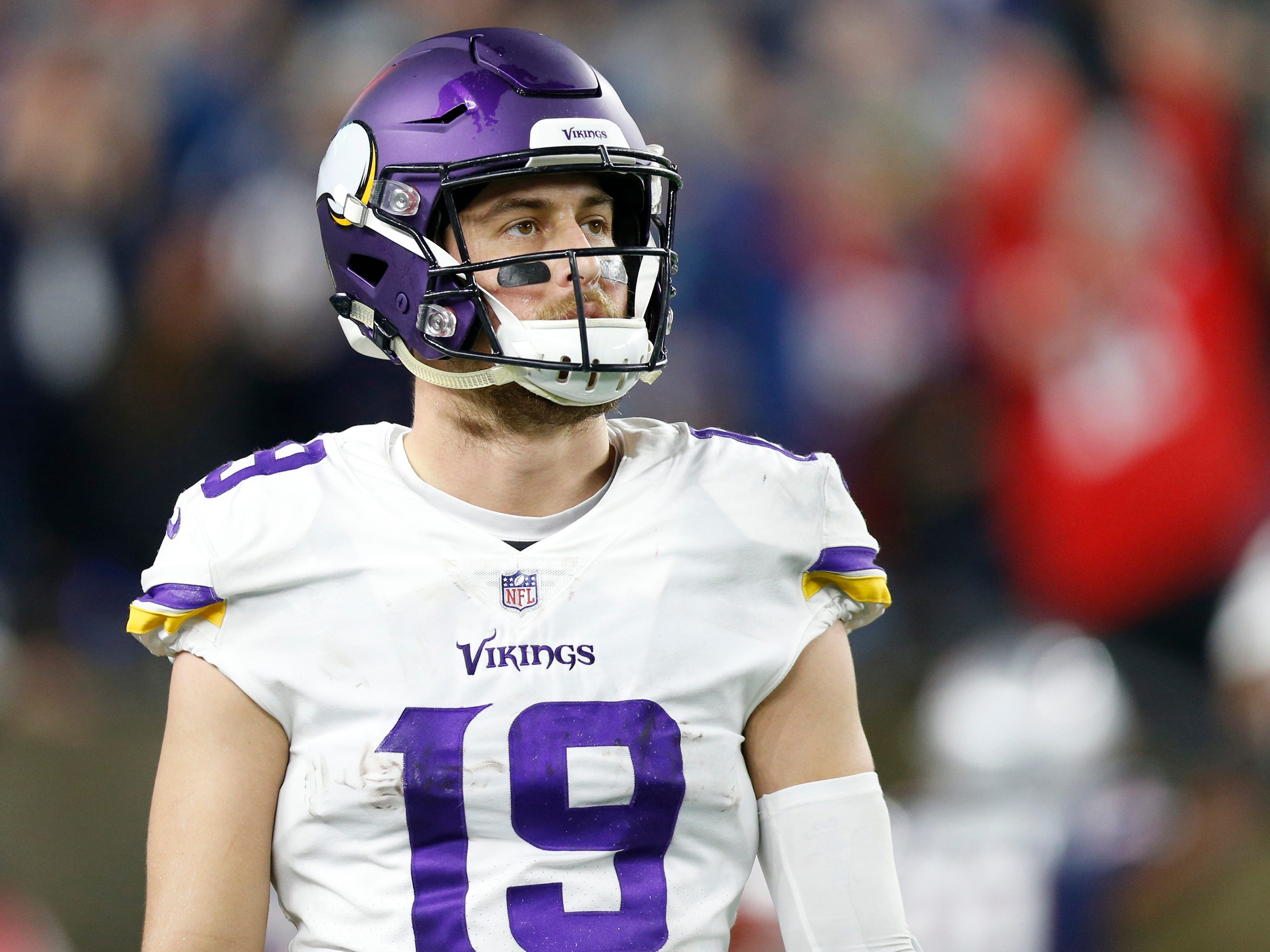 12. Vikings (6-5-1) | Last game: Lost to the Patriots, 24-10 | Previous ranking: 9 | The buzz: Vikings haven't topped 100 yards rushing since Nov. 4 win over the Lions.