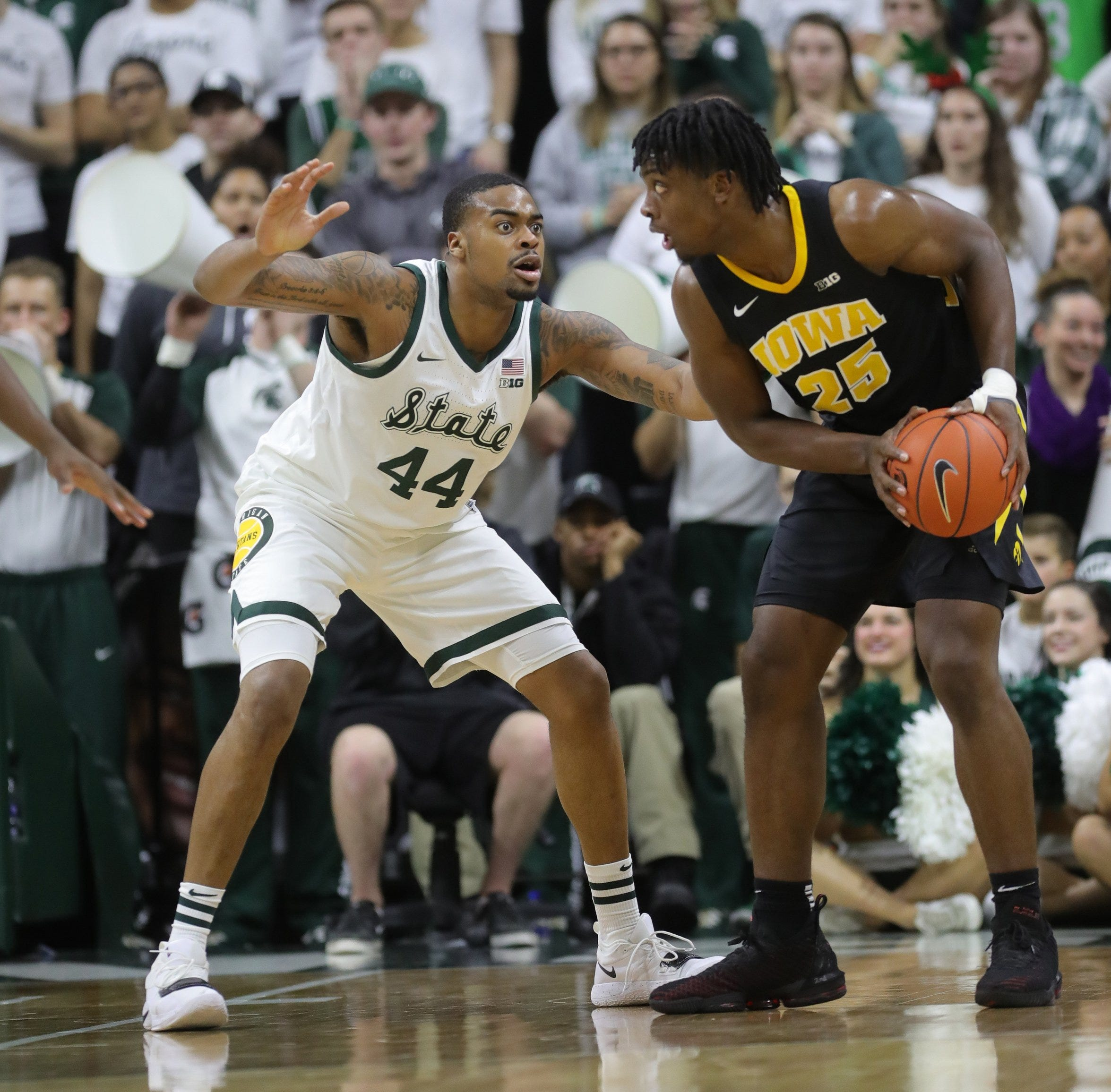 Michigan State basketball at Iowa: Scouting report, prediction