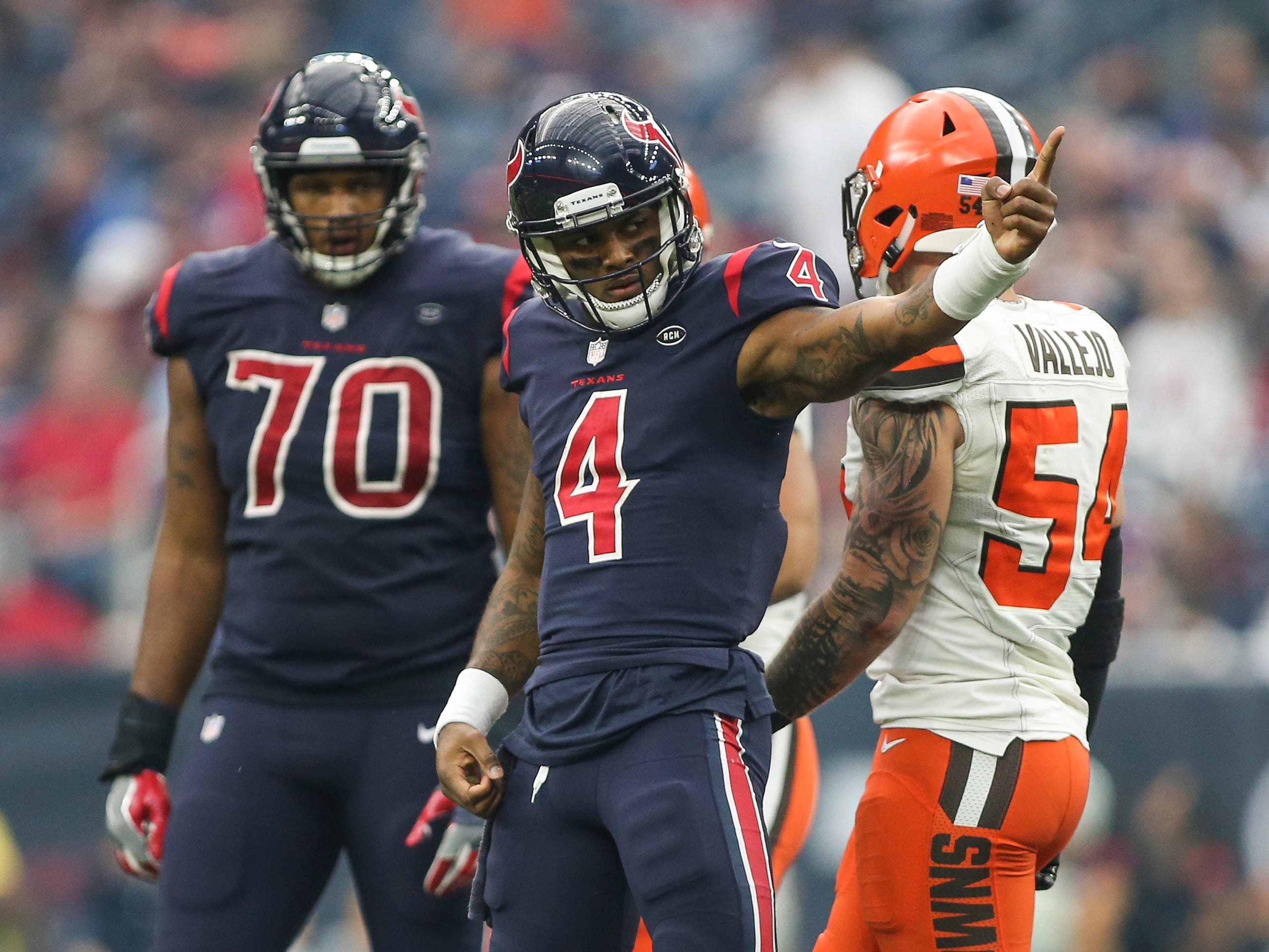5. Texans (9-3) | Last game: Defeated the Browns, 29-13 | Previous ranking: 6 | The buzz: The Texans are going to win 13 games and not get a first-round bye.