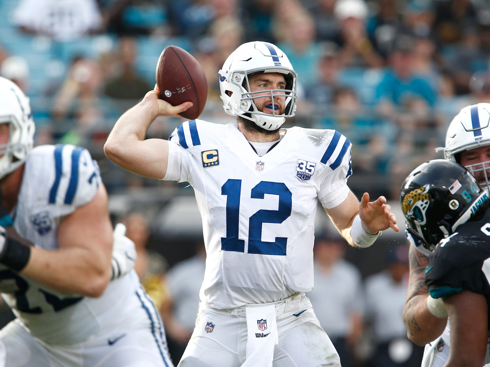 17. Colts (6-6) | Last game: Lost to the Jaguars, 6-0 | Previous ranking: 13 | The buzz: After Josh McDaniels bailed on him, Matt Eberflus has done a great job as Colts defensive coordinator.