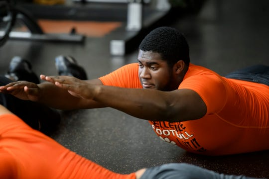 Belleville offensive lineman Devontae Dobbs will play next season at Michigan State.