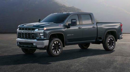 The 2020 Chevy Silverado Heavy Duty anchors the third leg of GM's truck strategy with a mid-size Chevy Colorado, light duty Silverado 1500, and Heavy Duty 2500 and 3500 pickups.