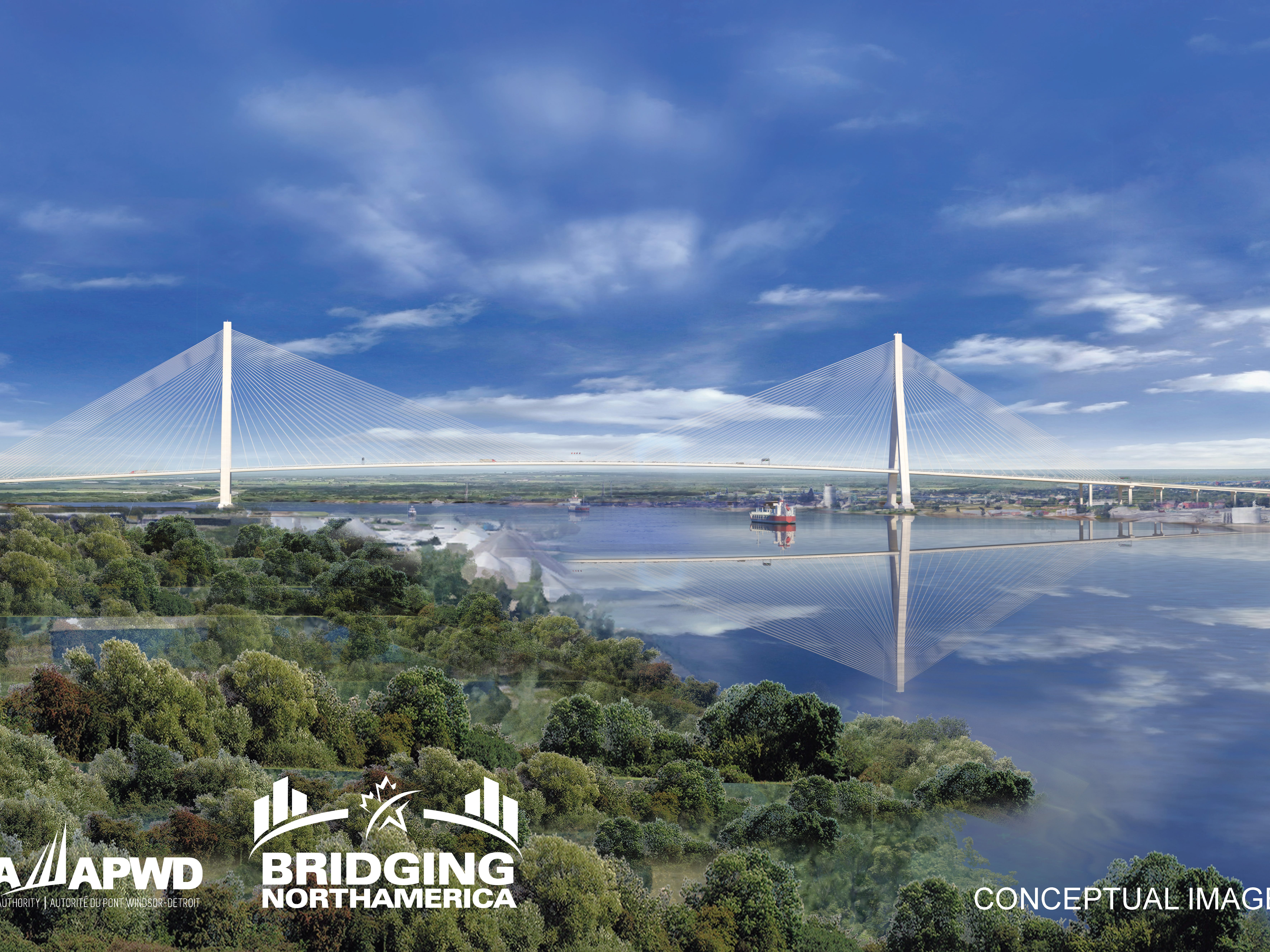 The bridge is expected to cost $4.4 billion. Its target opening date is late 2024.