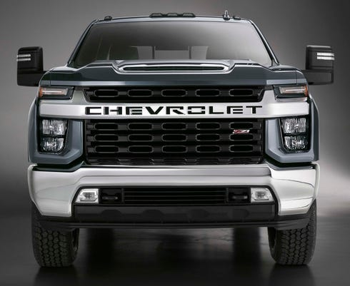 GM's heavy Chevy Silverado HD makes its debut