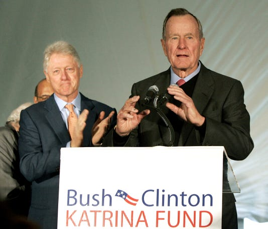 Bill Clinton George H W Bush
