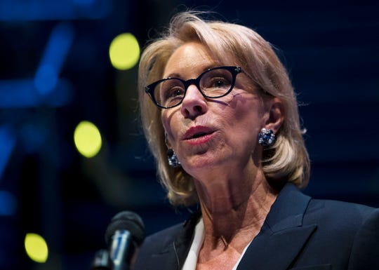 U.S. Secretary of Education Betsy DeVos announced Thursday that more than $6 billion will be distributed immediatelyto college and universities nationwideto provide direct emergency cash grants to low-incomecollege students whose lives and educations have been disrupted by the coronavirus outbreak.