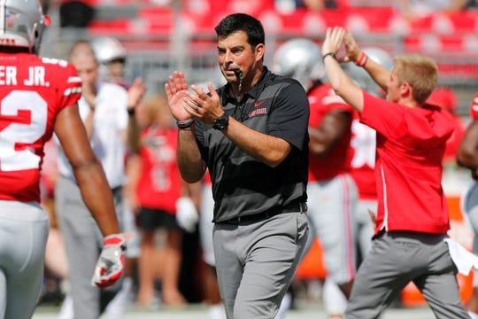 Ohio State coach Ryan Day.